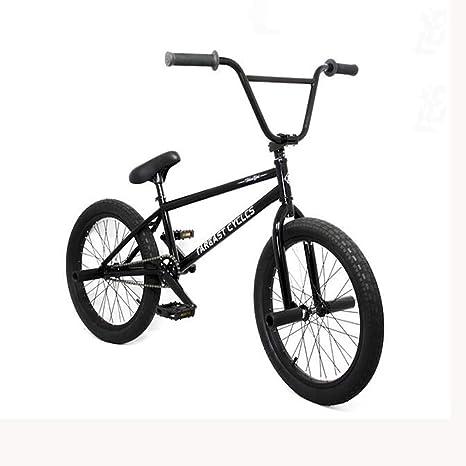 GASLIKE Bicicleta BMX para Adolescentes y Adultos: Ciclistas Principiantes a avanzados, Ruedas de 20 Pulgadas, Cuadro de Acero con Alto Contenido de Carbono, Engranaje BMX 25x9T: Amazon.es: Deportes y aire libre