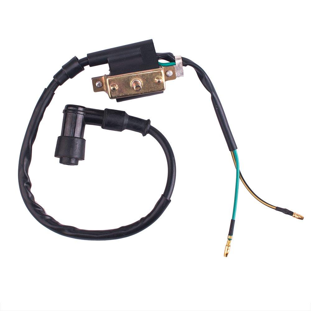 Cisno Kick Start Dirt Pit Bike Wire Harness Wiring Loom Electric Coil Cdi Spark Plug Magneto 50 125cc Automotive