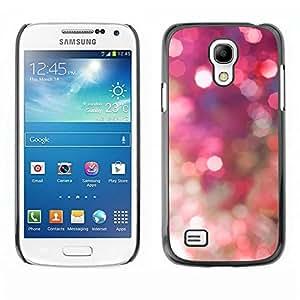 Be Good Phone Accessory // Dura Cáscara cubierta Protectora Caso Carcasa Funda de Protección para Samsung Galaxy S4 Mini i9190 MINI VERSION! // Sparkle Sparkly Gold Disco