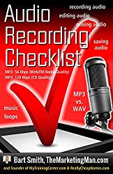 Audio Recording Checklist