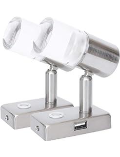 4.5Inch Facon 12V LED Puck Licht Deckenleuchte Innenbeleuchtung mit ON//OFF-Schalter f/ür Camper Wohnmobil Wohnwagen Anh/änger Boot Marine und Fahrzeug
