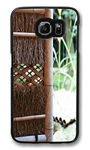 Caolu Custom Samsung Galaxy S6/Samsung S6 Case Cover Polycarbonate Black