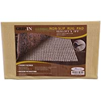Non-slip Non-skid Rug Pad For Area Rugs and Runners Eco Friendly Made With 100% Plant Based Oils Grip-In (3 x 5)