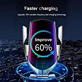 AJSHGD R1 Automatic Clamping 10W Wireless Charger