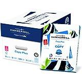 Hammermill Paper, Copy Plus Paper, 8.5 x 11 Paper, Letter Size, 3 Hole, 20lb Paper, 92 Bright, 10 Reams / 5,000 Sheets (105031C) Acid Free Paper