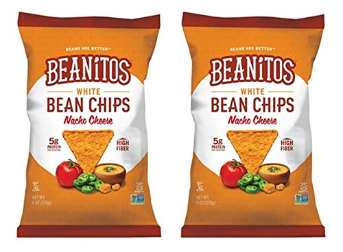 Beanitos White Bean Chips - Nacho Cheese - 6 oz