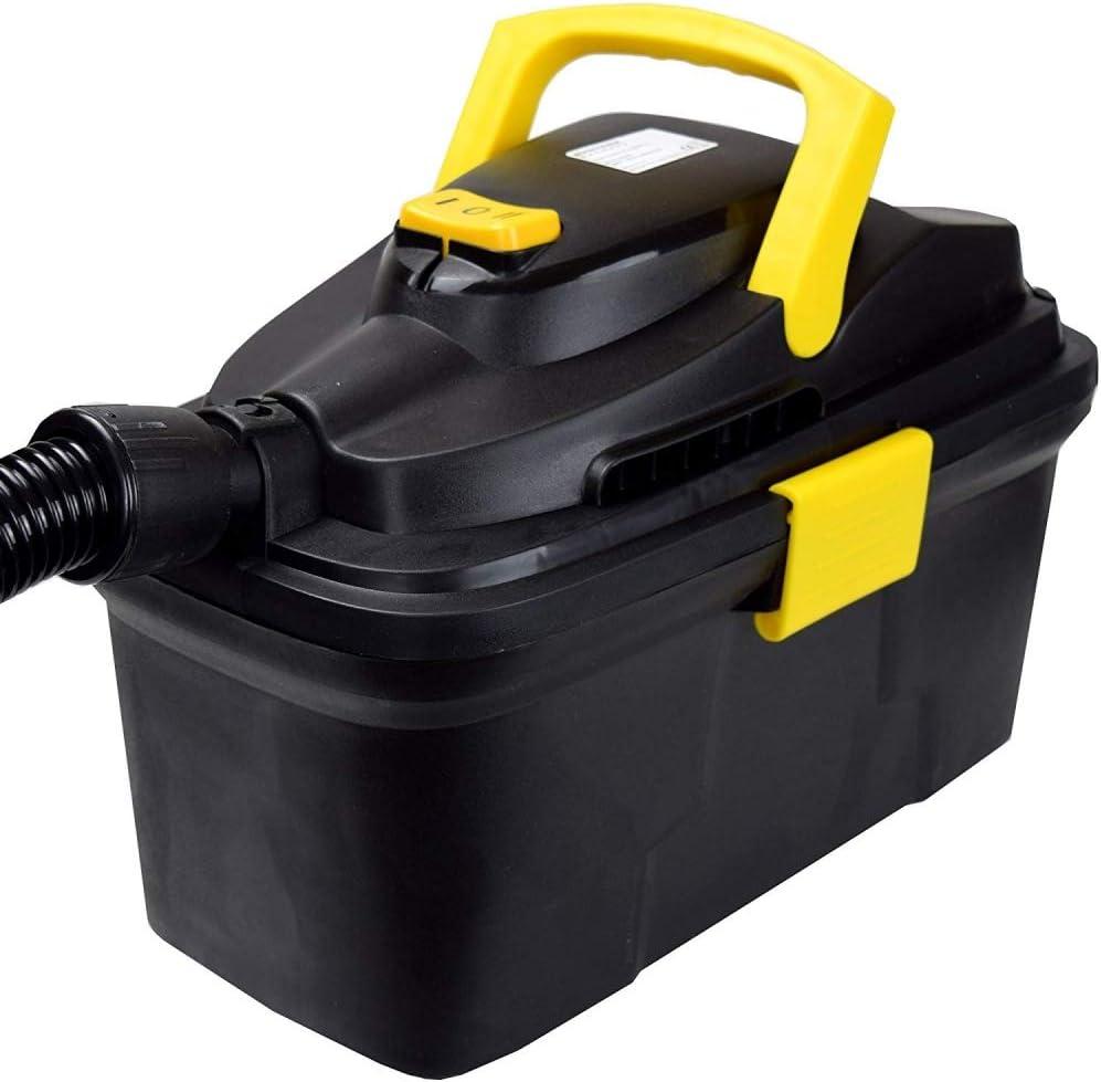 Syntrox Germany – 10 L Aspiradora Estanque – Aspiradora en seco y húmedo con válvula de purga: Amazon.es: Bricolaje y herramientas
