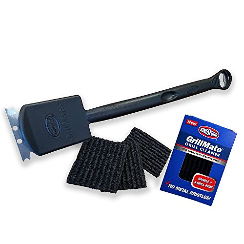 Built In Porcelain Coated Grill - Kingsford 107740 Grillmate Grill Cleaner