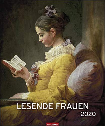 Lesende Frauen Edition. Wandkalender 2020. Monatskalendarium. Spiralbindung. Format 46 X 55 Cm
