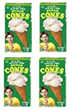 no sugar ice cream - Lets Do Organic [Edwards and Sons] Gluten Free Sugar Ice Cream Cones Are the Top Selling Gluten Free Ice Cream Cone [4 Pack]