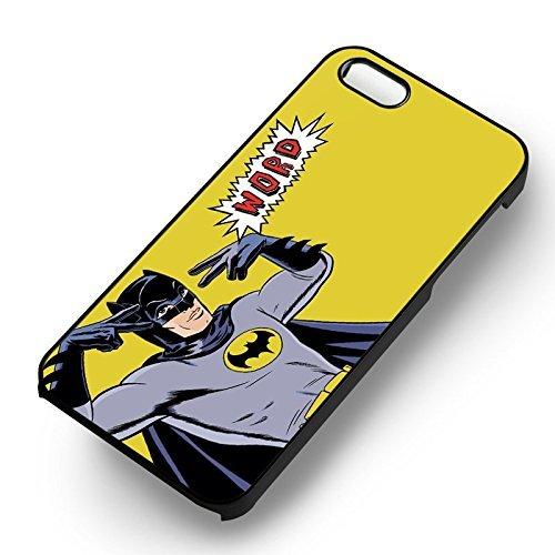 Batman Word pour Coque Iphone 6 et Coque Iphone 6s Case (Noir Boîtier en plastique dur) M9R3JE