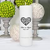 Personalized Unity Candle - 3''x9''