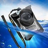デジカメ 防水ケース デジタルカメラ レインカバー 防水ケース 防水カバー casio/canon/fujifilm/sony/nikon/yashica/panasonic/olympus 防水 デジカメ ケース ブラック