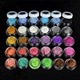 30 Colors Eye Shadow Powder pigment Colorful Makeup Mineral Eyeshadow Pigment Set Makeup Tools Cosmetic
