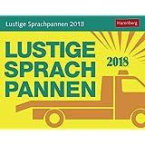 Lustige Sprachpannen - Kalender 2018