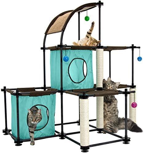 Kitty City Claw Mega Kit Cat Furniture, Cat Sleeper, Corrugate Cat Scratcher