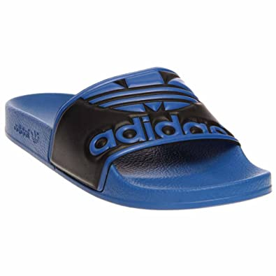online store da9d1 ad0f6 adidas Adilette Trefoil  G96369 Blue (14)