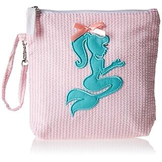 Palm Beach Crew Seersucker Backpack or Mini Collection, Pink/Mermaid Mi