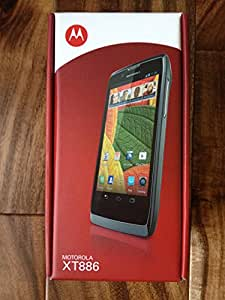 Motorola RAZR V XT886 Unlocked GSM Smartphone w/ Android 4.0, Dual-Core Processor and 8MP Camera - Black
