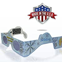 3D Christmas Glasses 10 Pack - Turn Holiday Lights Into Magical Images For A Fun Christmas Experience. Our Holographic Glasses Are Perfect For Entertaining Family, Friends & Colleague by Trust Companies LLC