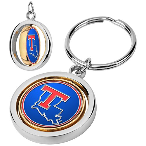 NCAA Louisiana Tech Bulldogs - Spinner Key Chain - Louisiana Tech Bulldogs Keychain