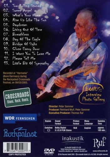 Robin Trower - Living Out of Time: Live by Ruf Records