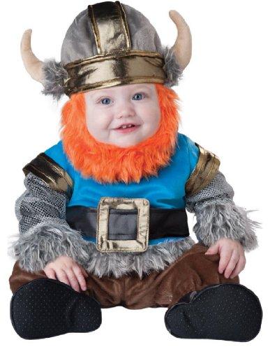 InCharacter Baby Boy's Viking Costume, Silver/Blue, Medium(12 - 18mos)