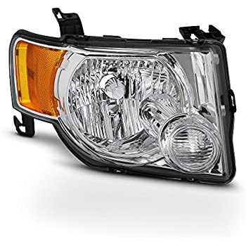 NEW LEFT SIDE HEAD LIGHT ASSEMBLY FOR 2008-2012 FORD ESCAPE FO2502229