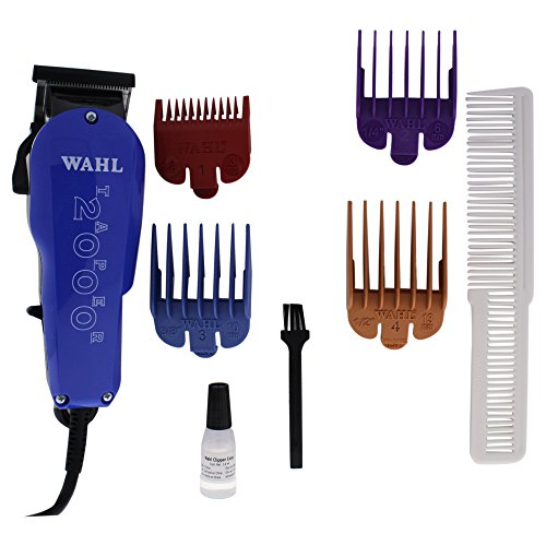 Wahl Professional Taper 2000 Adjustable Cut Clipper #8472-700 - Assorted Color Blade Attachments
