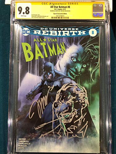 CGC 9.8 JIM LEE SIGNED ORIGINAL ART SKETCH COMIC BATMAN PENGUIN ss not CBCS Stan
