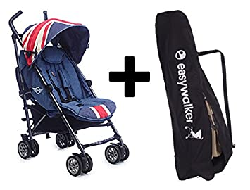 Mini By Easywalker Buggy - Union Jack Vintage + Easywalker Bolsa de transporte: Amazon.es: Bebé