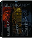 Blomkamp³ Limited Edition Collection (Chappie / District 9 / Elysium + Included Digibook [Blu-ray] (Bilingual)