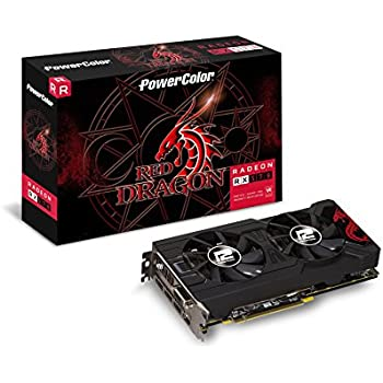 PowerColor Red Dragon Radeon RX 570 AXRX 570 4GBD5-3DHD/OC