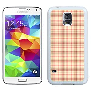 New Beautiful Custom Designed Cover Case For Samsung Galaxy S5 I9600 G900a G900v G900p G900t G900w With Warm Colors Plaid (2) Phone Case