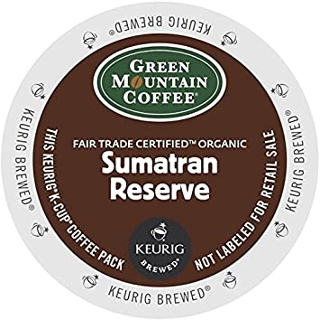 green mountain coffee kcup portion pack for keurig kcup brewers sumatra - K Cup Brewers