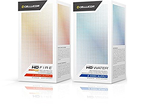 Cellucor Super HD Water w Super HD Fire Rapid Weight Loss Body Toning Supplement (Hd Cellucor Super)