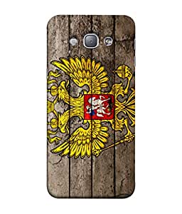 ColorKing Football Russia 22 Multicolor shell case cover for Samsung A8