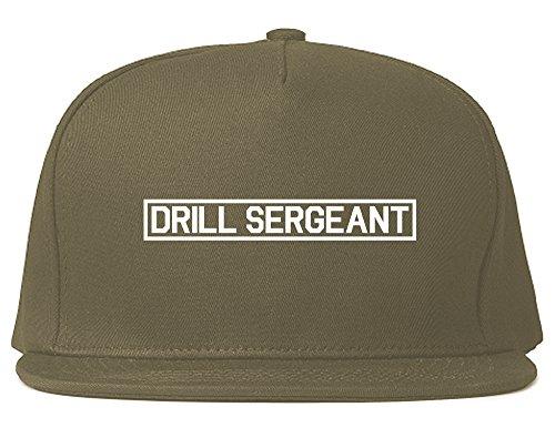 Drill Sergeant Sgt Snapback Hat Cap ()