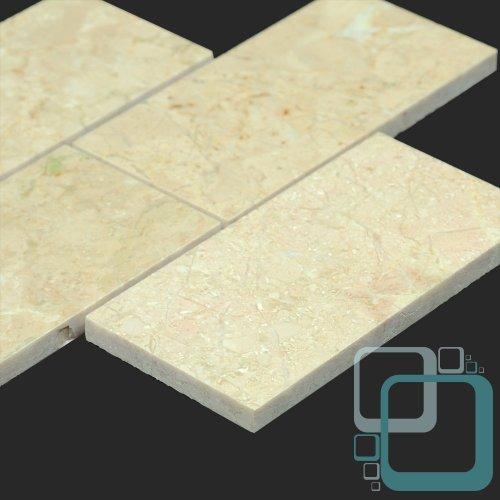UPC 716982446681, Crema Marfil Selecto 3x6 Polished Marble Tile