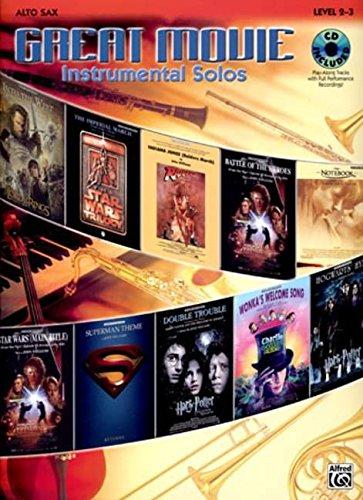 Download Great Movie Instrumental Solos Book & CD (Alto Sax) PDF