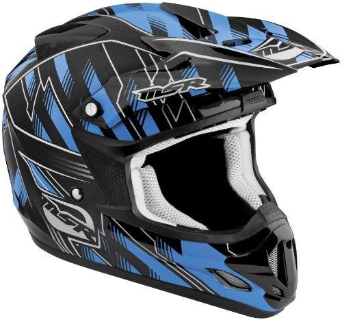 (MSR Visor for Velocity 2012 Helmet - Legacy Black/Cyan)