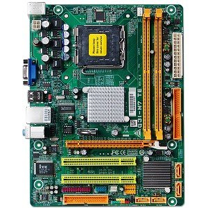 Biostar G31-M7 TE Intel G31 Socket 775 mATX Motherboard w/Video, Audio & LAN