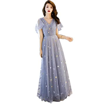 b4ccc58a4c091 QJKai Banquet Evening Dress Female Elegant Ladies Long Dress Annual ...