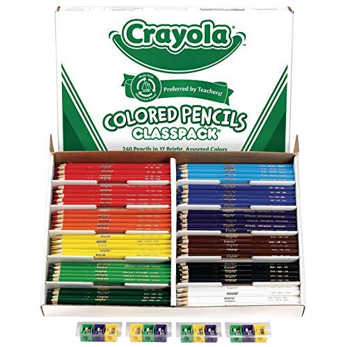 - Crayola Classpack Colored Pencil (68-8024)