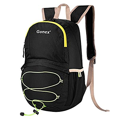 Gonex 15L Lightweight Packable Backpack Cute Handy Hiking Pack Waterproof Daypack for Kids
