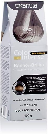 Tonalizante Hidratante Banho de Brilho Cinza, C.Kamura, 100 ml