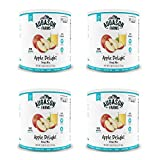 Augason Farms Apple Delight Drink Mix #10 Can, 91 oz (4 pack)