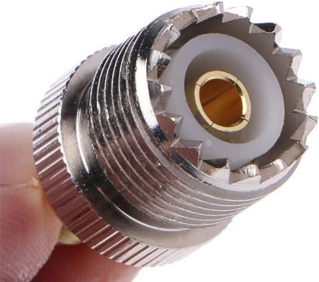 TengKo UHF Hembra a SMA Macho Adaptador RF Coaxial Conector ...