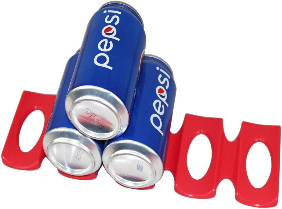 ausilio per laccatastamento di bottiglie e lattine porta birra in silicone 123 Life Portabottiglie frigorifero