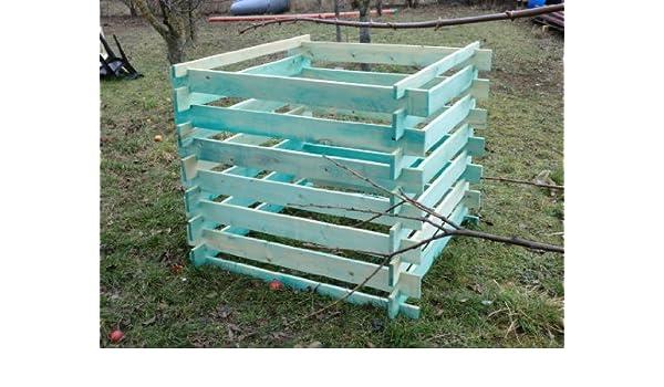 Elmato 14855 Madera Kom Póster compostador impregnada 120 x ...
